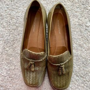 Olive green Naturalizer loafers